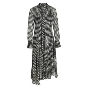 Theory broken oval dress s wrap dress nwt $575